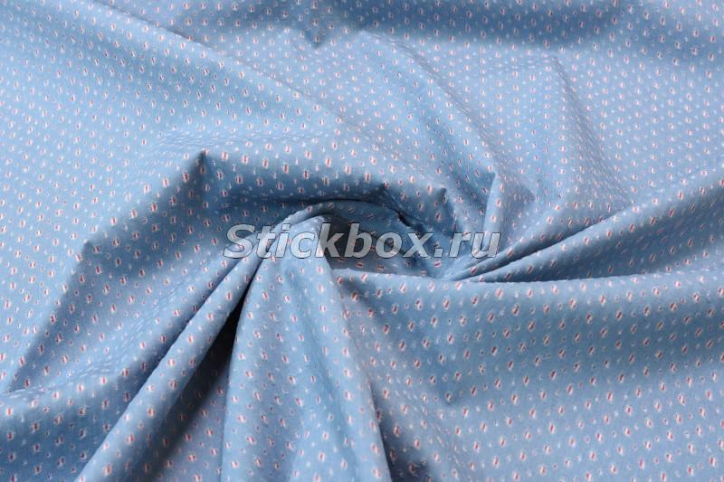 Купить джинсовую ткань голубую праздничные наборы